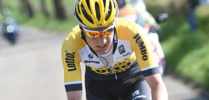 Wilco Kelderman baalt na stuurfout in Amstel Gold Race