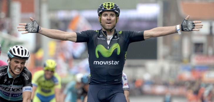 Alejandro Valverde sprint naar zijn derde zege in Luik-Bastenaken-Luik