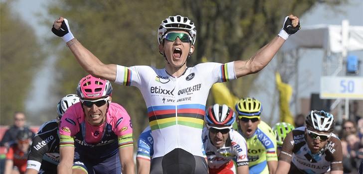 Kwiatkowski zegeviert in Amstel Gold Race