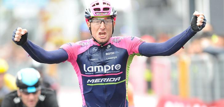 Giro 2015: Modolo wint sprint, Aru pakt het roze