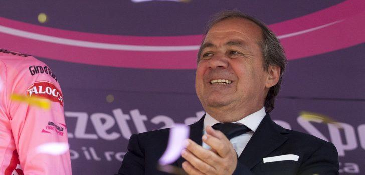 Giro d'Italia-voorzitter Mauro Vegni ziet niets in plan gemixt team