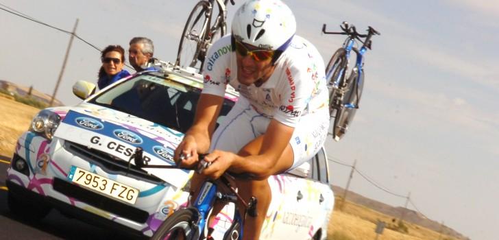 Leider Gustavo Veloso wint tijdrit in Volta a Portugal
