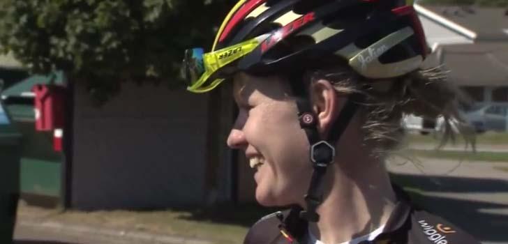 Jolien D'Hoore wint in Vargarda, Brand vierde