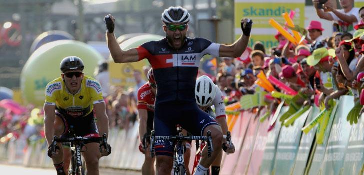 Matteo Pelucchi wint door valpartij ontsierde sprint in Polen