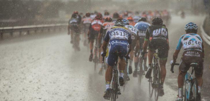Tweede rit Ronde van Denemarken afgeblazen door harde wind