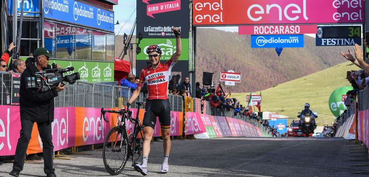 Giro 2018: Vrijbuitersteam van Lotto Soudal jaagt op eerste roze trui
