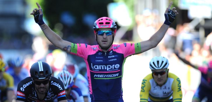 Modolo nipt sneller dan Wouter Wippert in Czech Cycling Tour
