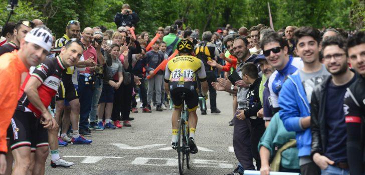 LottoNL-Jumbo vanaf 2017 in shirtjes van Shimano