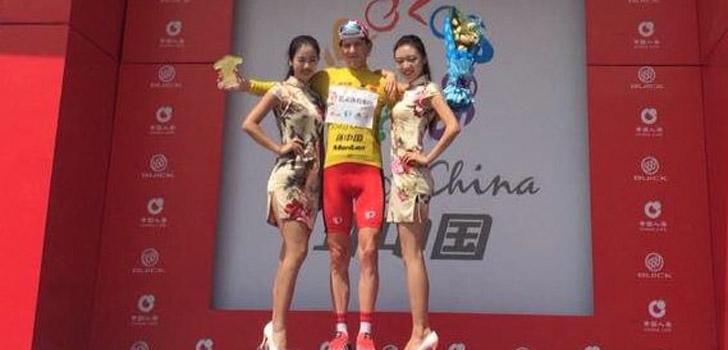 Thomas Rabou wint proloog Tour of China II