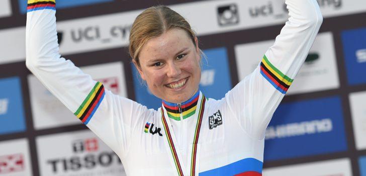 Amalie Dideriksen de snelste in voorlaatste rit OVO Energy Women's Tour, Vos derde