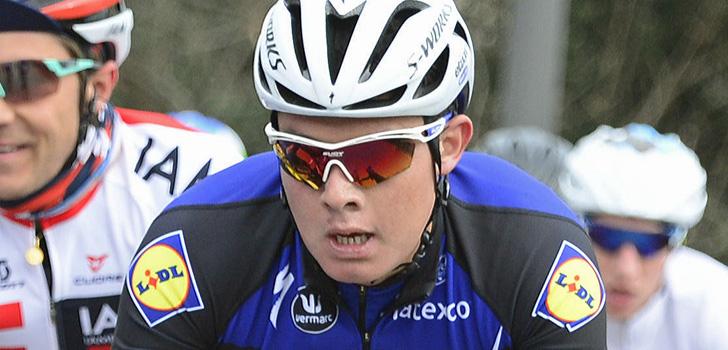 Rodrigo Contreras levert contract bij Etixx-Quick Step in