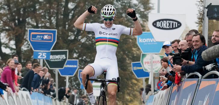 Van Aert leidt van start tot finish in Oostende