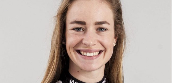 Riejanne Markus aan het feest in EPZ Omloop van Borsele, Marianne Vos derde
