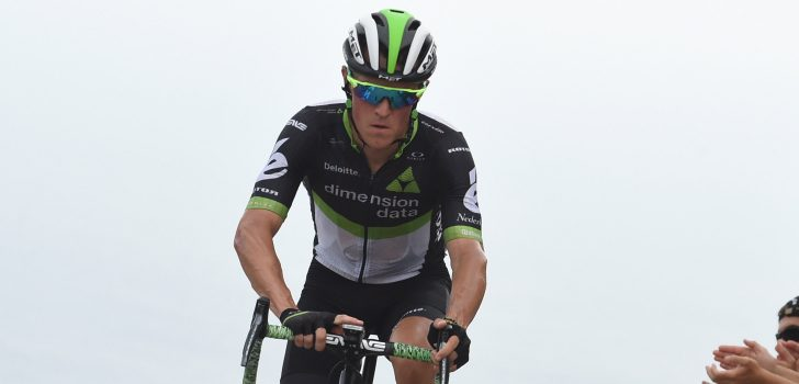 Vuelta 2017: Dimension Data nog met vier na opgave Pauwels