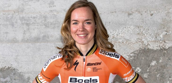 Solozege Van der Breggen in Ronde van Vlaanderen, volledig Nederlands podium