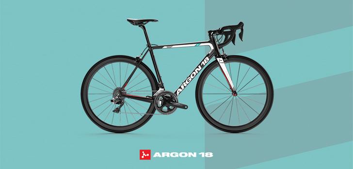 Wegploeg BEAT op fietsen Argon 18