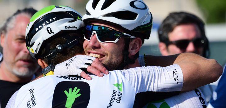 """Cavendish verlengt bij Dimension Data: """"Record Merckx nog steeds mijn doel"""""""