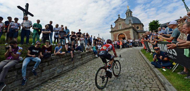Geraardsbergen haakt af voor WK Wielrennen 2021