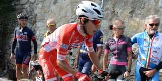 Costa Ricaan Rivera zegeviert bergop in Tour of China