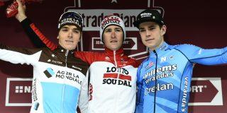 Oud-winnaar Tiesj Benoot start niet in Strade Bianche