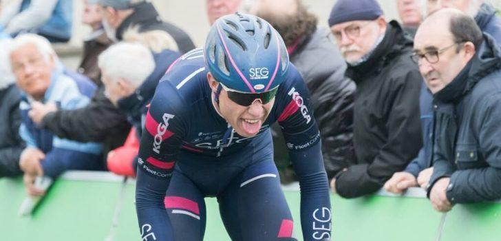 Julius van den Berg soleert naar overwinning in Profronde van Noord-Holland