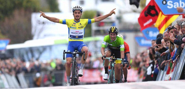 Alaphilippe boekt tweede zege op rij na spectaculaire finale in Baskenland