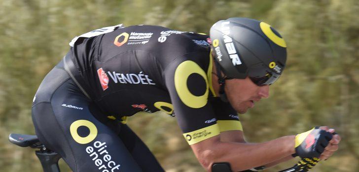 Damien Gaudin eerste leider in Ronde van Luxemburg