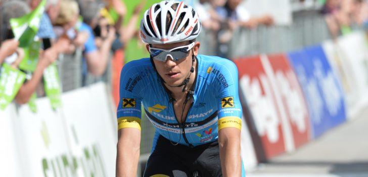 Riccardo Zoidl soleert naar winst in tweede rit Czech Cycling Tour