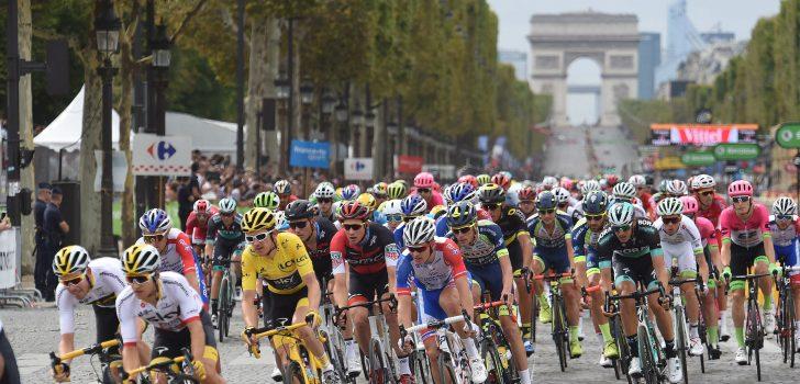 #TourGemist: Acht rondjes Champs Elysées, 145 renners en aan het eind wint een sprinter
