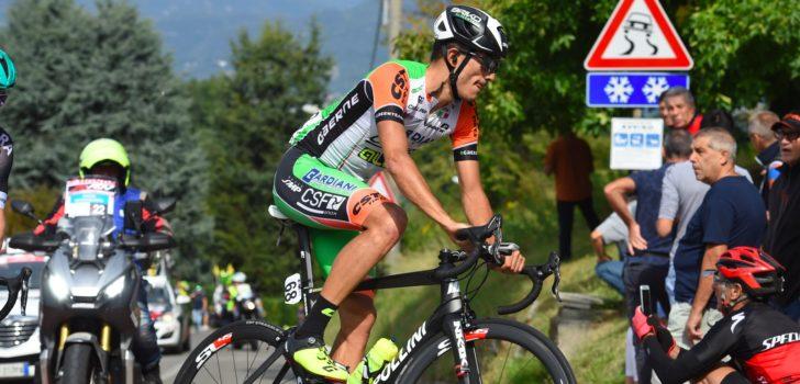 Giro 2020: Luca Wackermann heeft ziekenhuis verlaten