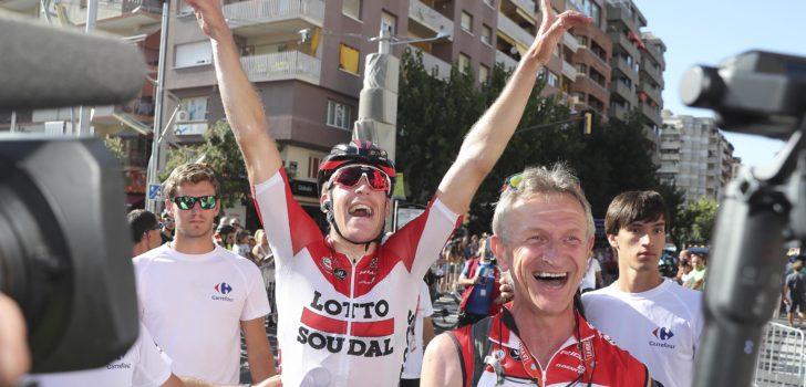 """Vuelta-ritwinnaar Wallays provoceert Quick-Step Floors: """"Losers!"""""""