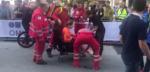 Annemiek van Vleuten breekt knie bij valpartij op WK, finisht als zevende
