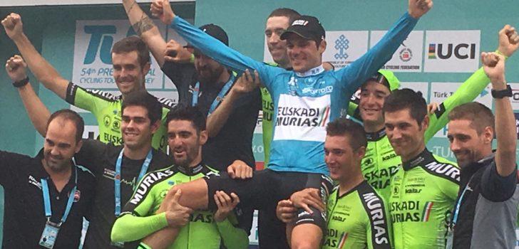 Euskadi-Murias koerst ook dit seizoen in het groen