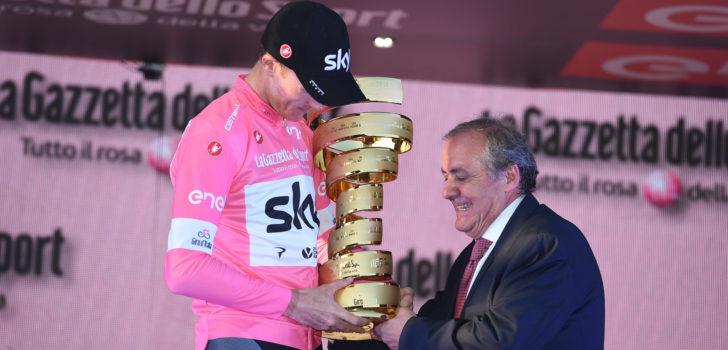 Girobaas Vegni hoopt Sagan aan de start te krijgen