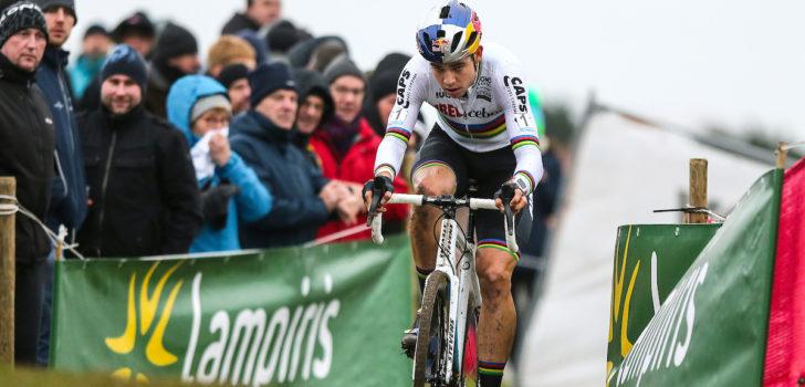 """Wout van Aert: """"Andere focus richting een kampioenschap"""""""
