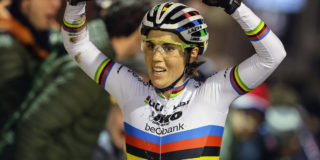 Sanne Cant is Annemarie Worst te slim af in avondcross Diegem