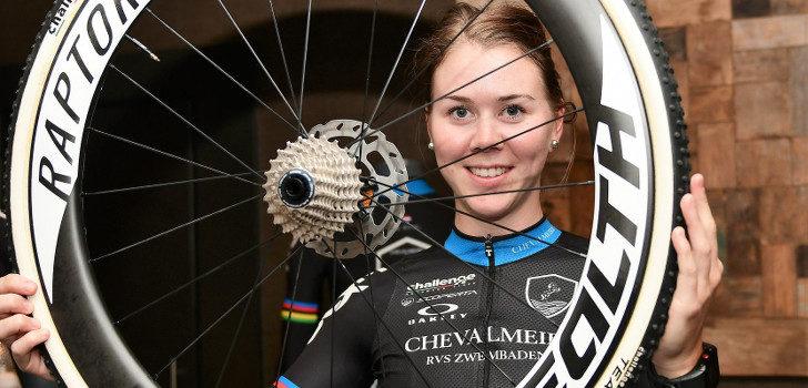 Eerste podiumplaats Thalita de Jong na comeback