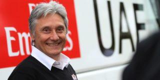 Giuseppe Saronni doet stap terug in management UAE Emirates