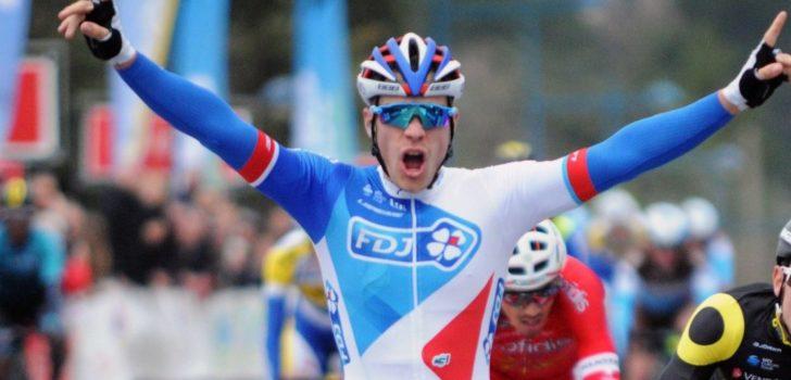 """Marc Sarreau na eerste zege: """"Druk op mezelf gezet om snel te winnen"""""""