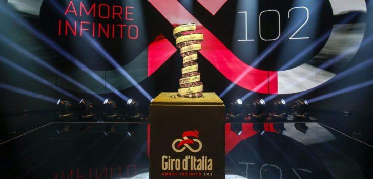 Giro d'Italia onthult wildcards: drie Italiaanse ploegen en Israel Cycling Academy welkom