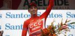 """Bevin optimistisch over kansen in Tour Down Under: """"Heb een mooie buffer op Porte nu"""""""