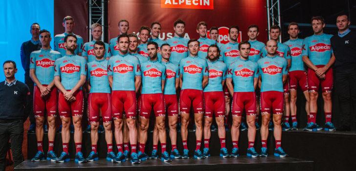 Wielerploegen 2019: Katusha-Alpecin