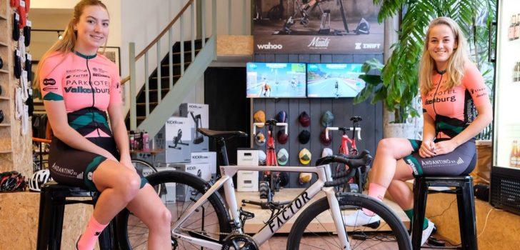 Parkhotel Valkenburg in het zachtroze, Factor nieuwe fietssponsor