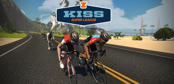 Zwift lanceert eSports in het wielrennen met KISS Super League