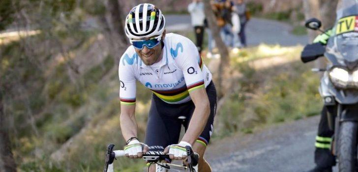 """Valverde op weg naar nieuwe eindzege: """"Maar het was niet gemakkelijk"""""""
