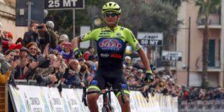 Eerste profzege Simone Velasco in Trofeo Laigueglia