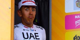 Giro 2020: Geblesseerde Juan Sebastián Molano kan toch niet verder