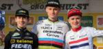"""Lars van der Haar tweede in Hulst: """"Hiervoor ben ik veldrijder geworden"""""""
