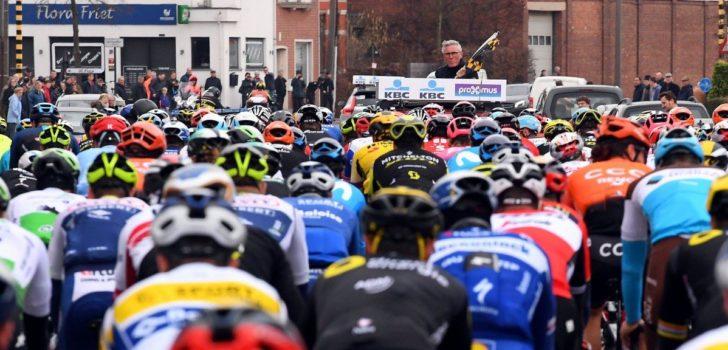 825.000 euro voor start Omloop Het Nieuwsblad