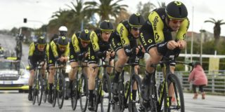 Mitchelton-Scott maakt favorietenstatus waar in Czech Cycling Tour
